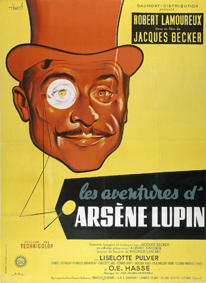 affiche Les aventures d'Arsene Lupin