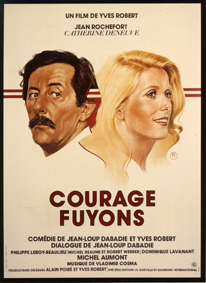 affiche Courage fuyons