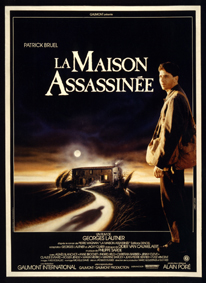 affiche La maison assassinée