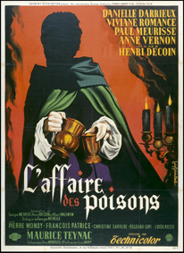 affiche L'affaire des poisons