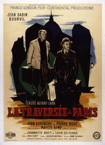 affiche La traversee de Paris